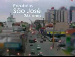 Homenagem aos 264 anos do município de São José!