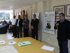 Fundação Municipal do Meio Ambiente de São José firma parcerias com o setor empresarial