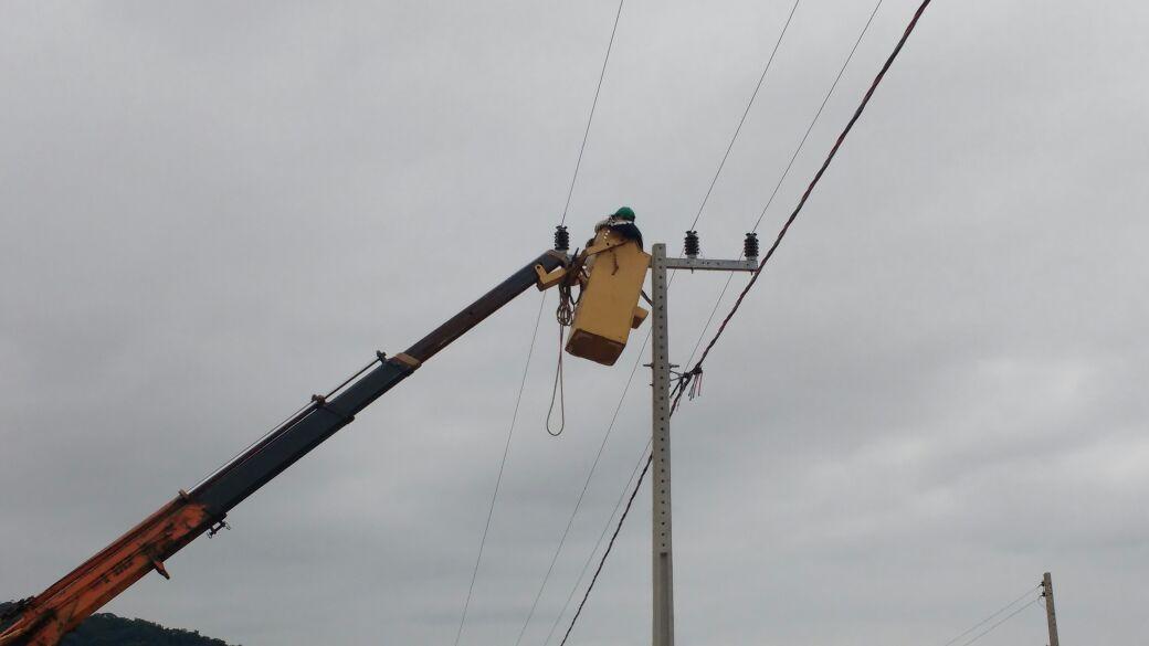 Instalações Rede Elétrica – 08.06.2016